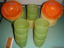 Belli e Forti bicchieri gaia e ciotoline onda - Set 30 pz N